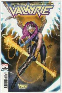 Valkyrie Jane Foster #6 Nakayama 2020 Variant (Marvel, 2020) NM