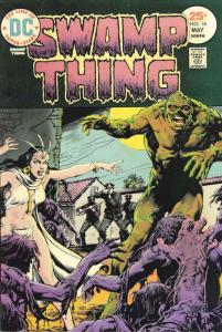 Swamp Thing (1st Series) #16 FN; DC   save on shipping - details inside