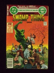 SWAMP THING SAGA #3, VF/NM, Bernie Wrightson, DC 1979  more DC in store