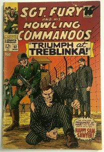 SGT. FURY#52 VG 1968 MARVEL SILVER AGE COMICS