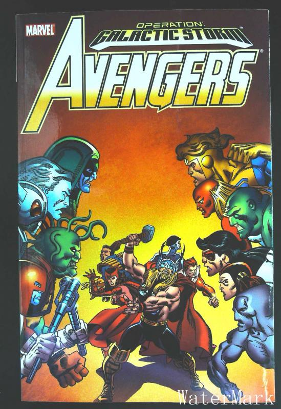 Avengers (1963 series) Galactic Storm TPB #2, NM + (Actual scan)