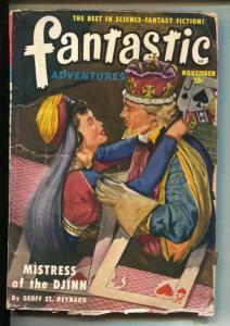 Fantastic Adventures-Pulp-11/1950-Geoff St. Reynard-Mack Reynolds
