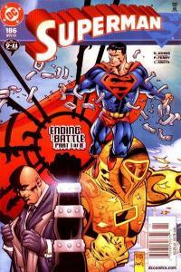 Superman (1987 series) #186, NM + (Stock photo)