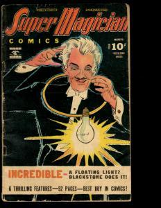 Super Magician Comics Vol. # 4 # 9 VG/FN 1946 Golden Age Comic Book Demons NE3