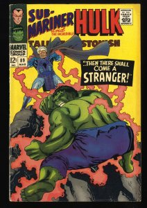 Tales To Astonish #89 VG+ 4.5 giant ant man hulk