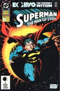 Superman: The Man of Steel Annual #1, NM (Stock photo)