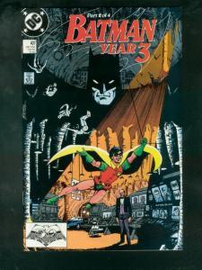 BATMAN #437 1989-YEAR 3 PART 2/4-ORIGIN OF ROBIN-GLOSSY VF/NM