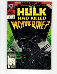 What If...? volume 2 #50 (FN) Wolverine Had Killed The Hulk ID#MBX1