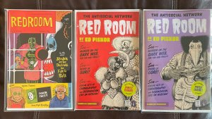 Red Room #1 Cover Package 3 Comics Total