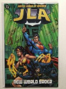 Justice Leaue Of America New World Order Near Mint Nm Dc Comics