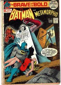 Brave and Bold #101 Batman and Metamorpho  GD-