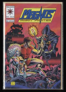 Magnus Robot Fighter (1991) #24 Near Mint Signed By Jimmy Palmiotti!