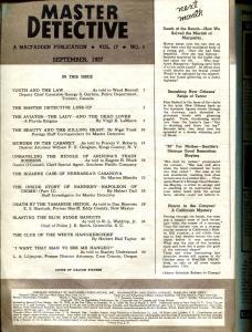 Master Detective 9/1937-Dalton Stevens cover-violent crime stories-VG