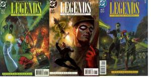 LEGENDS OF THE DC UNIVERSE (1998) 7-9  Peace Makers