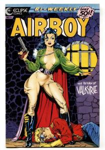 Airboy #5-1986-Spicy GGA Dave Stevens cover-Eclipse comic