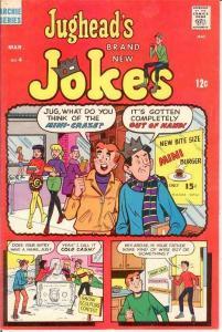 JUGHEADS JOKES (1967-1982)4 F-VF March 1968 COMICS BOOK