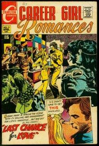 CAREER GIRL ROMANCES #56 1970-CHARLTON-MARIJUANA USE CV VG