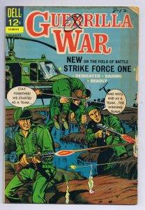 Guerilla War #13 ORIGINAL Vintage 1966 Dell Comics