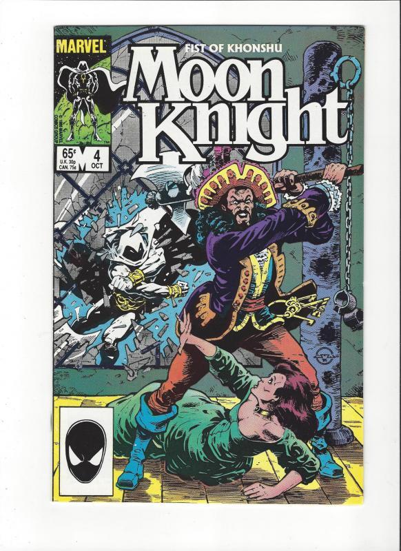 Moon Knight:Fist Of Khonshu #4 (1985) NM