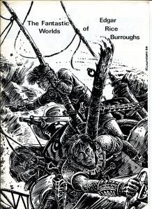 Fantastic Worlds of Edgar Rice Burroughs #13 1985-British fanzine-Cawthorn-FN