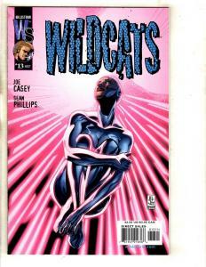 7 WildC.A.T.s WildStorm Comics # 13 14 15 16 18 Divine Intervention 1 + MF7