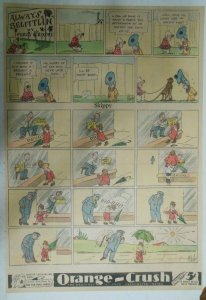 Skippy Sunday Page by Percy Crosby from ?/1936 Size: 15 x 22 inches Full Page