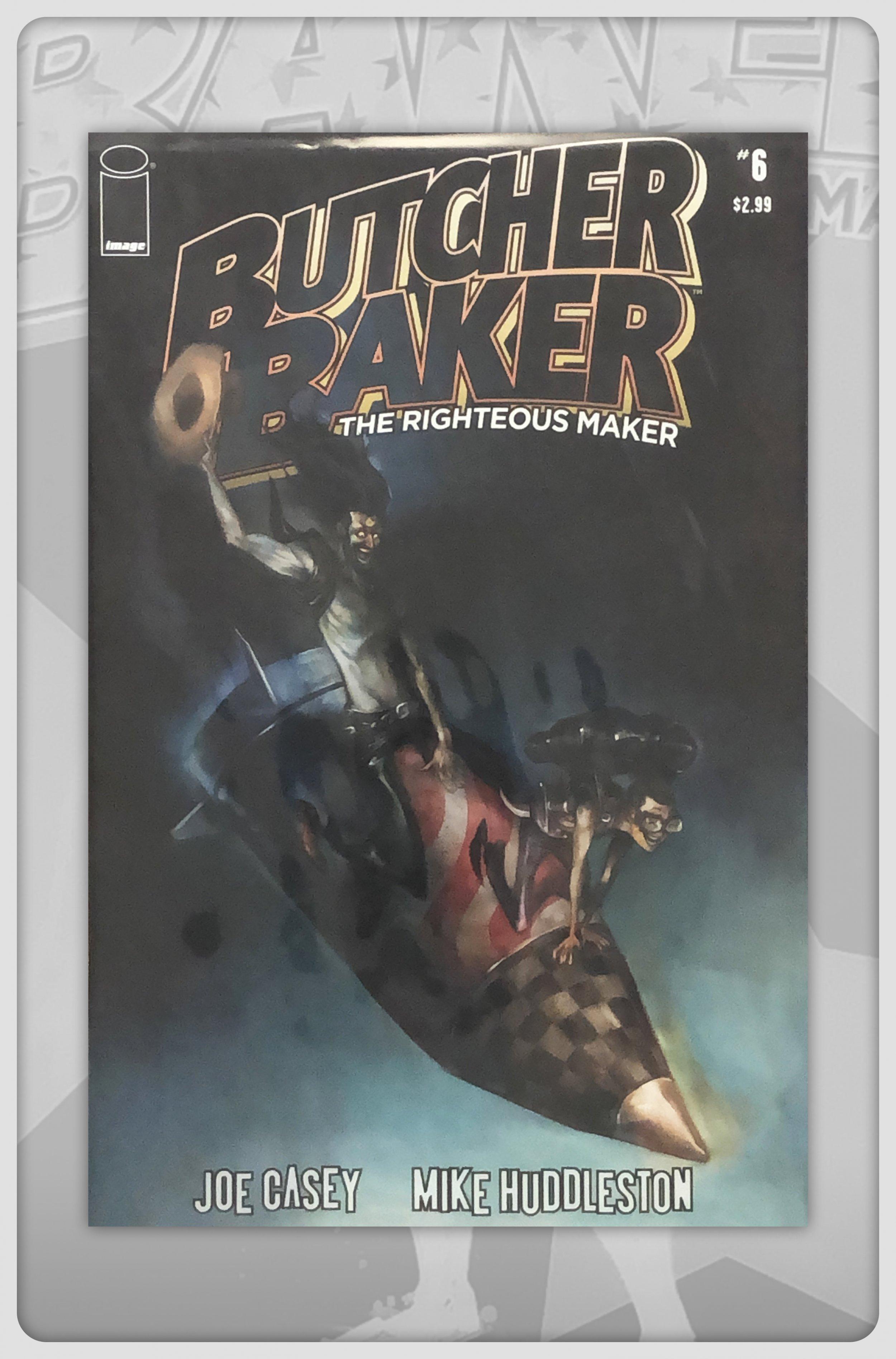 Butcher Baker The Righteous Maker #6 Comic Book
