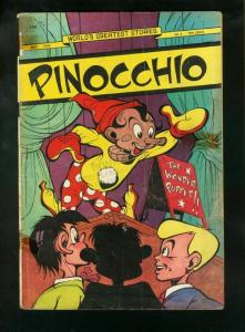 PINOCCHIO-WORLDS GREATEST STORIES #2 1949-PUPPET FR/G