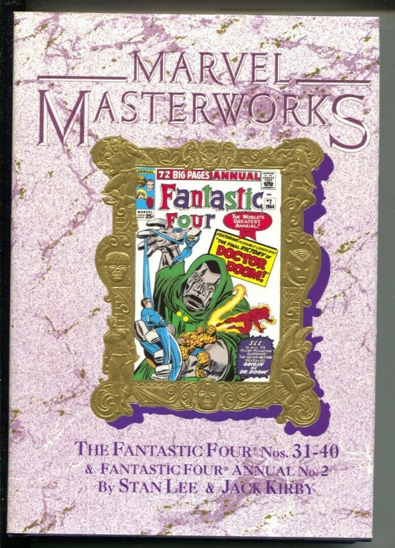 Marvel Masterworks The Fantastic Four-Vol 21-Stan Lee-1992-HC-VG/FN