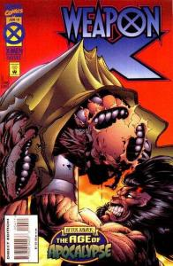 Weapon X (1995 series) #4, VF+ (Stock photo)