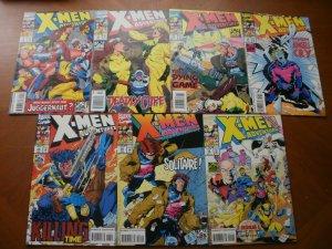 7 Marvel Comic: X-MEN ADVENTURES #9 10 11 12 13 14 15 (1993) Rogue Angel Finale