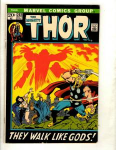 Mighty Thor # 203 FN/VF Marvel Comic Book Avengers Hulk Iron Man Odin Loki HY1
