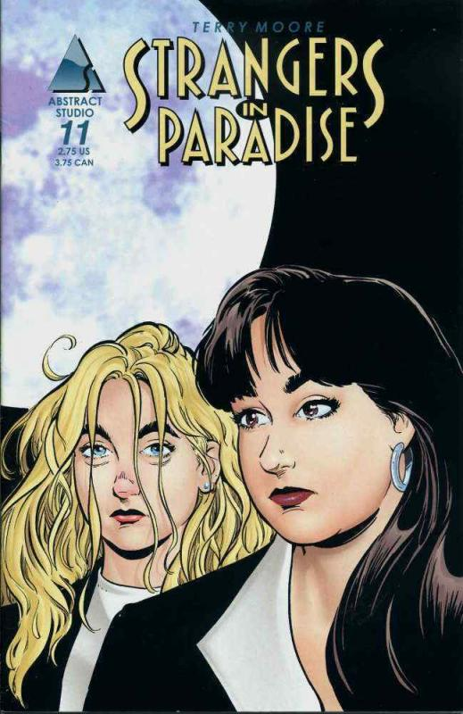 Strangers in Paradise (3rd Series) #11 VF/NM; Image | save on shipping - details