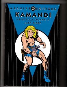 Kamandi Vol. # 2 Archive Editions DC Comics HARDCOVER Comic Book SEALED J350