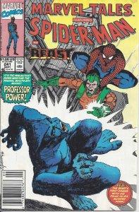Marvel Tales featuring Spider-Man & Beast #241 (Sept 1990) - vs. Professor Power