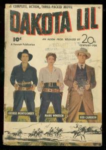 DAKOTA LIL 1949-FAWCETT MOVIE-ROD CAMERON-G MONTGOMERY FR/G