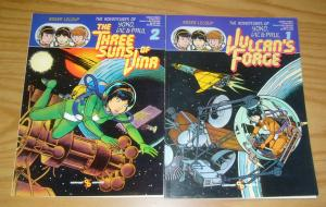 Adventures of Yoko, Vic & Paul #1-2 VF/NM complete series - roger leloup comcat