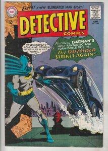 Detective Comics #340 (Jun-65) FN/VF+ High-Grade Batman