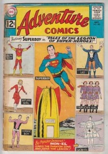 Adventure Comics #300 (Sep-62) GD/VG Affordable-Grade Superboy, Legion of Sup...