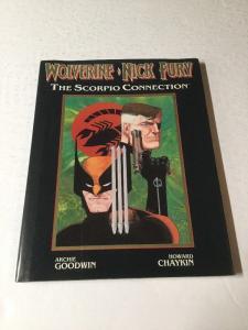 Wolverine Nick Fury Scorpio Connection Hardcover Nm Near Mint