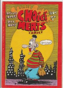 Choice Meats Comics #1 (Jan-73) FN Mid-Grade