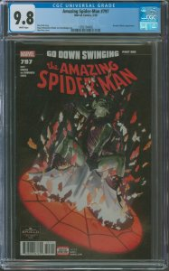 Amazing Spider-Man #795 CGC Graded 9.8 Loki & Zelma Stanton appearance