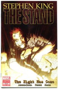 STEPHEN KING : STAND - The NIGHT HAS COME #5, 2011, VF/NM, Virus, more in store