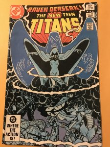 The New Teen Titans #31 : DC 5/83 Fn/VF; Raven's story; George Perez
