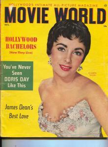 Movie World-James Dean-Elizabeth Taylor-Jayne Mansfield-Marilyn Monroe-Oct-1955