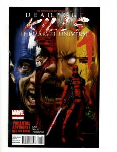 Deadpool Kills The Marvel Universe Complete LTD Series # 1 2 3 4 NM 1st Prnt HR8