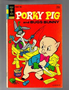 PORKY PIG  50 VERY GOOD PLUS  Gold Key Ocober 1973