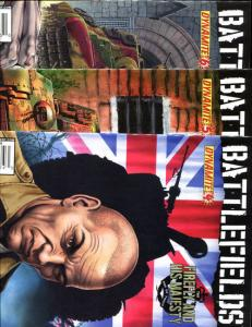 BATTLEFIELDS - FIREFLY #4 5 6, VF+, Garth Ennis, War, 2009, more Ennis in store
