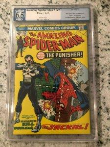 Amazing Spider-Man # 129 FN+ PGX 6.5 GRADED Marvel COMIC Book 1st PUNISHER TJ1