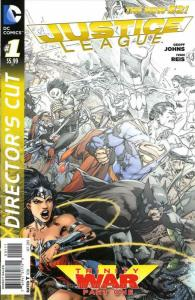 Justice League (2nd Series) #22D VF/NM; DC   save on shipping - details inside